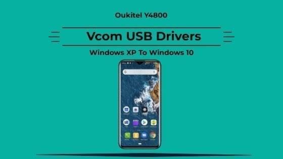 Y4800 Vcom USB Drivers For Windows