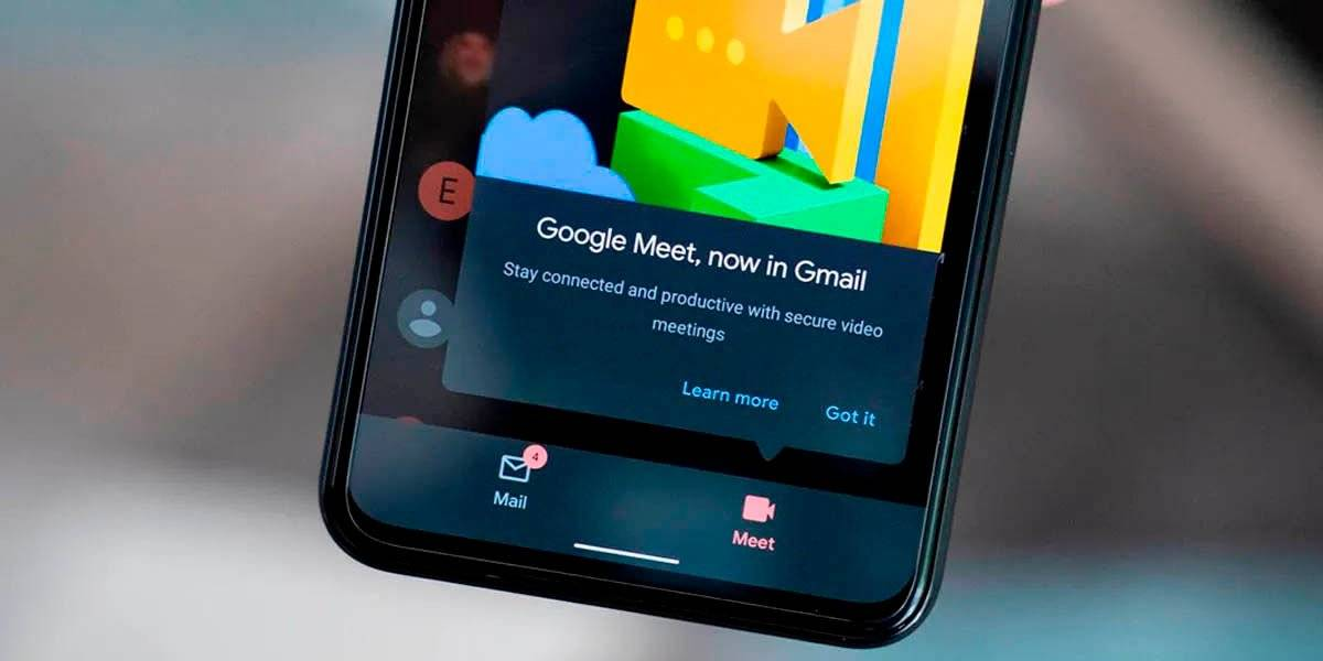 hide the Meet icon in the Gmail app
