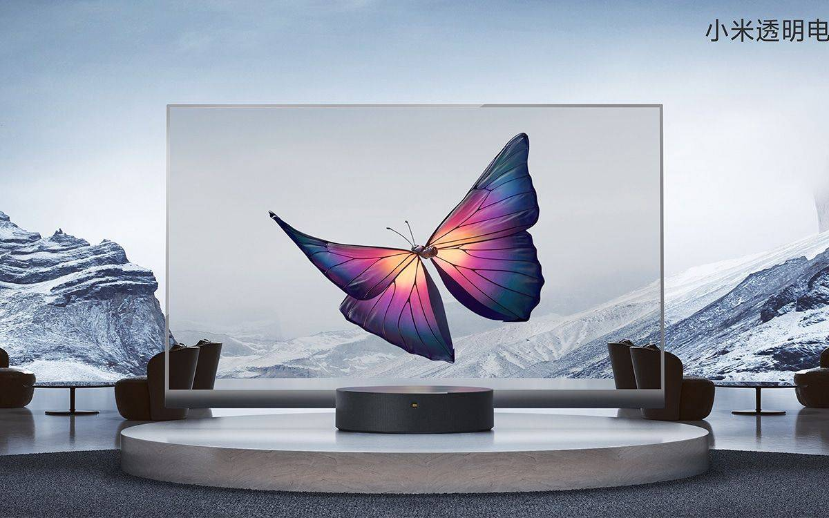 how Xiaomi's television of the future looks like