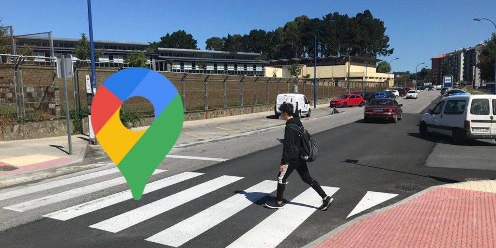 sidewalks and pedestrian crossings