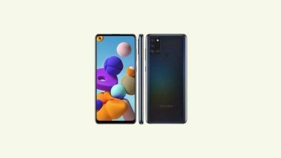Galaxy A21s SM-A217M Binary 3 Firmware