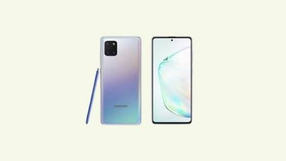 Galaxy Note 10 Lite SM-N770F Binary 4 Firmware