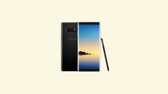 Galaxy Note 8 SM-N950F Binary 13 Firmware