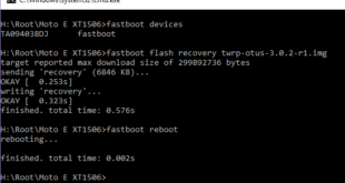 Motorola Phones Firmware Using mFastboot