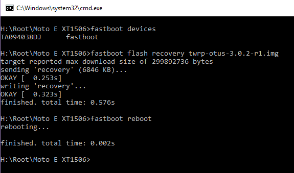 Motorola Phones Firmware Using mFastboot