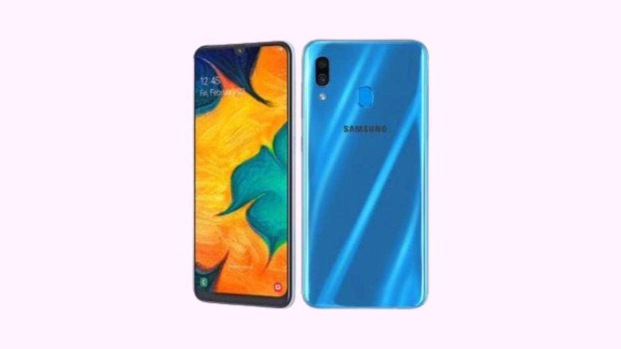 Galaxy A30 SM-A305GT Binary 7 Firmware