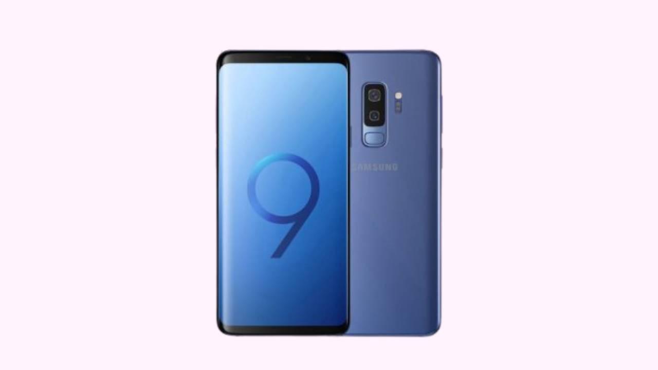 Galaxy S9 + SM-G965F Binary 12 Firmware