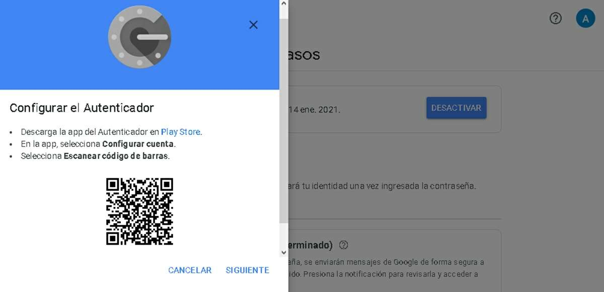 Install Google Authenticator on another device