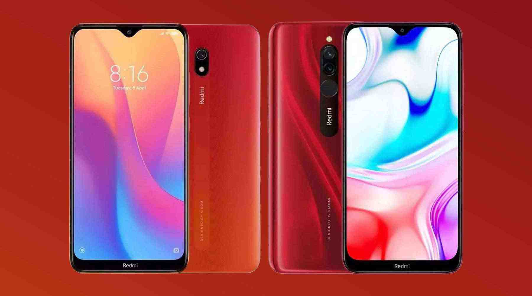 Redmi 8A are receiving the MIUI 12