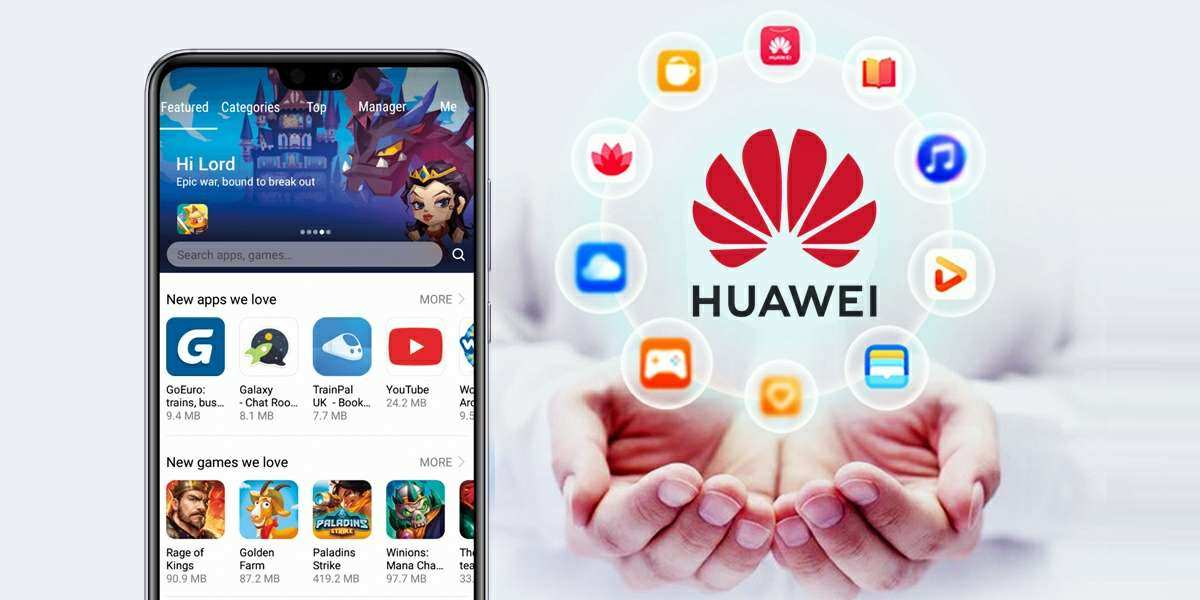install Huawei services