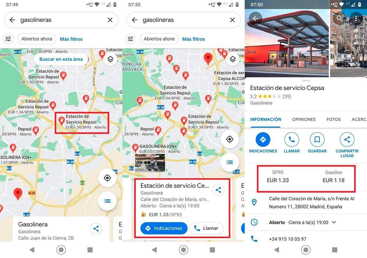 pen Google Maps