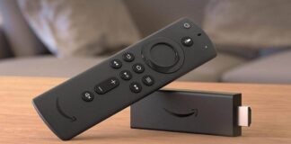 phone screen on the Amazon Fire TV Stick