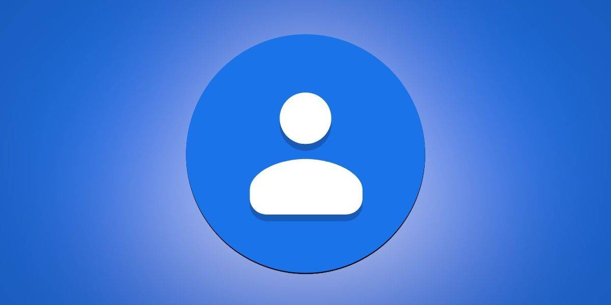 profile picture in the Google Contacts app