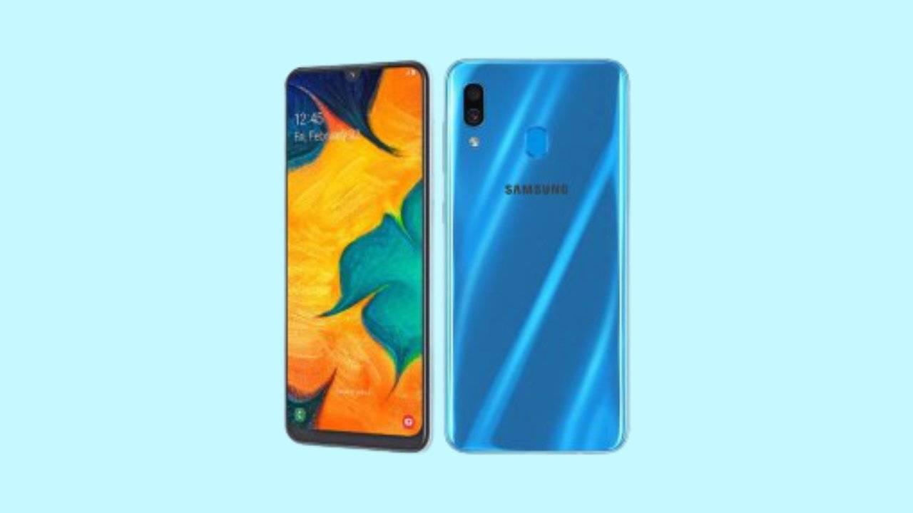 Galaxy A30 SM-A305GT Binary 8 Firmware