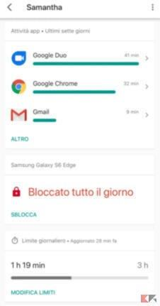 Use Google Family Link from an Android smartphone