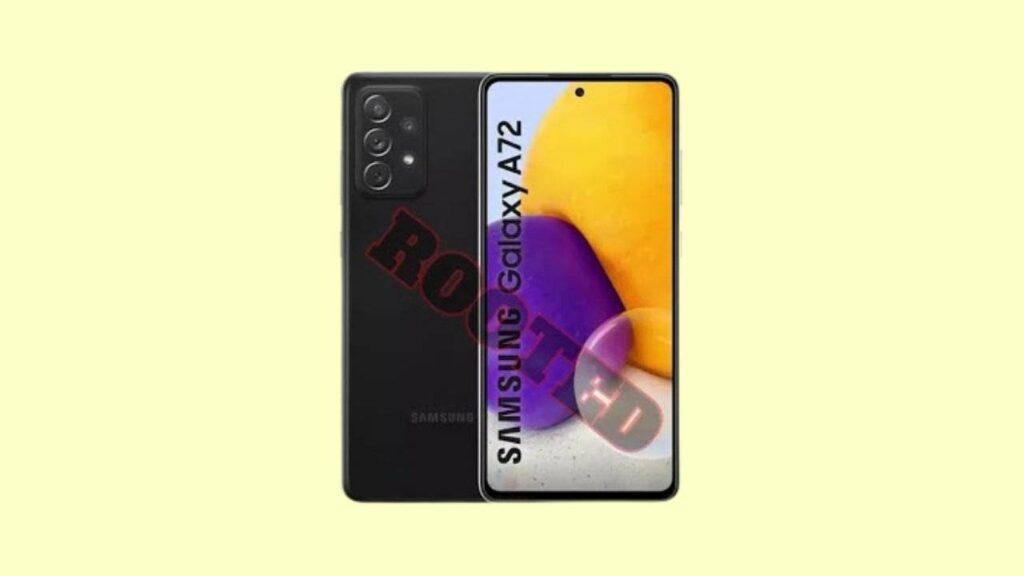 Root Galaxy A72 SM-A725M A725MUBU1AUB4