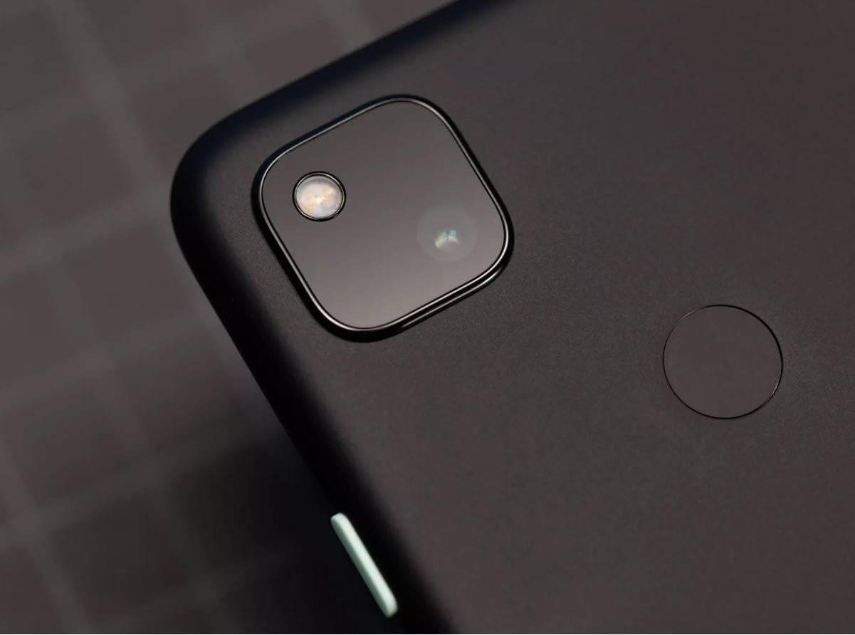 google pixel 4a fingerprint sensor