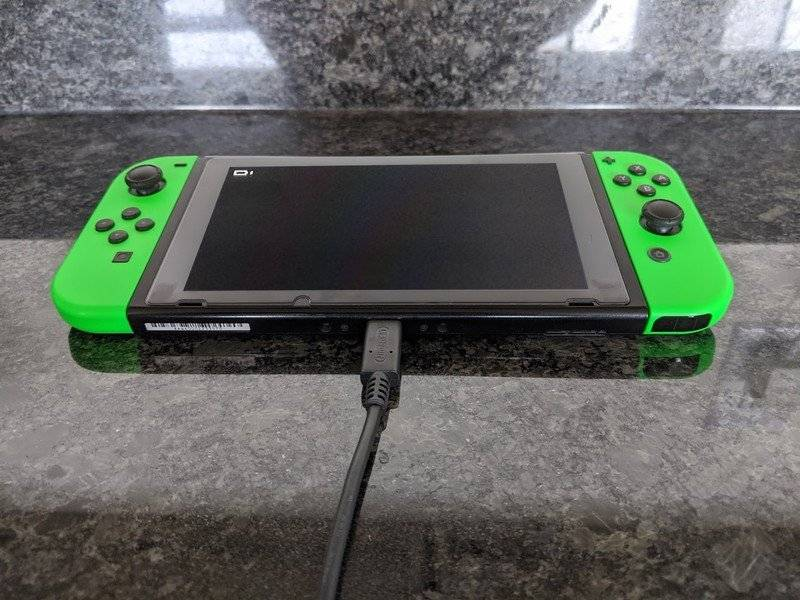 New Nintendo Switch charger