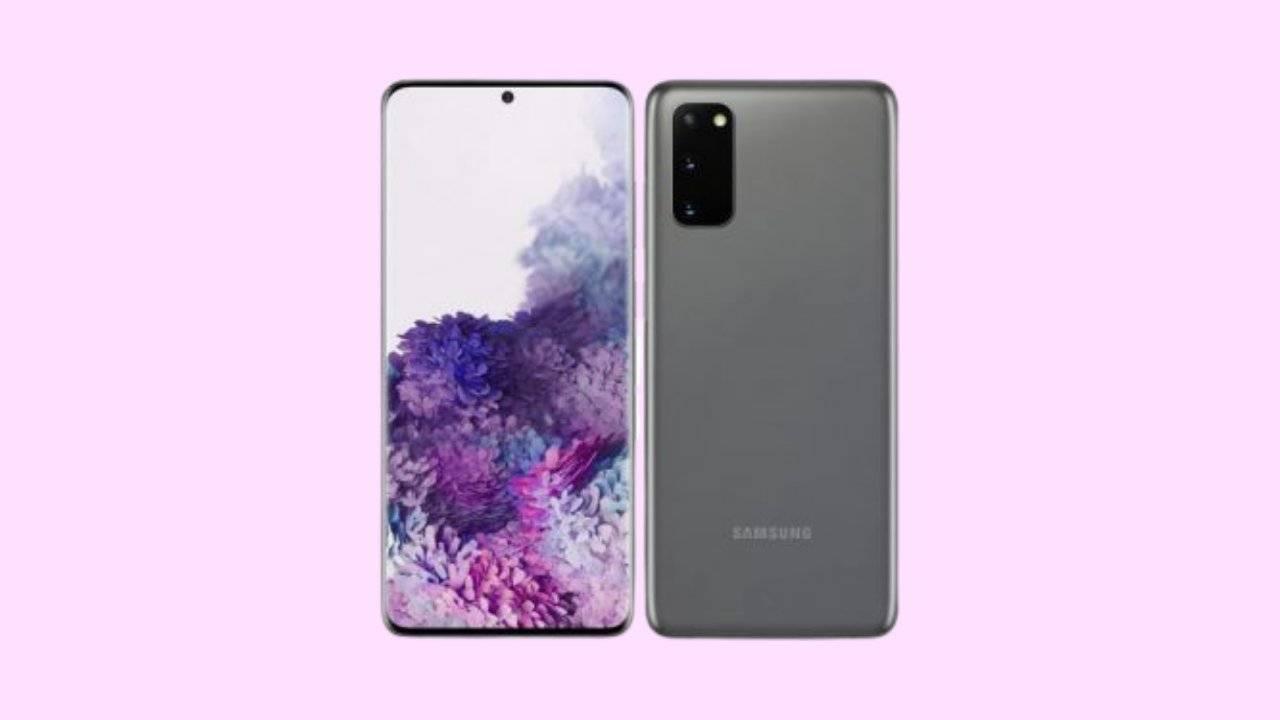 Galaxy S20 SM-G980F Binary 7 Firmware