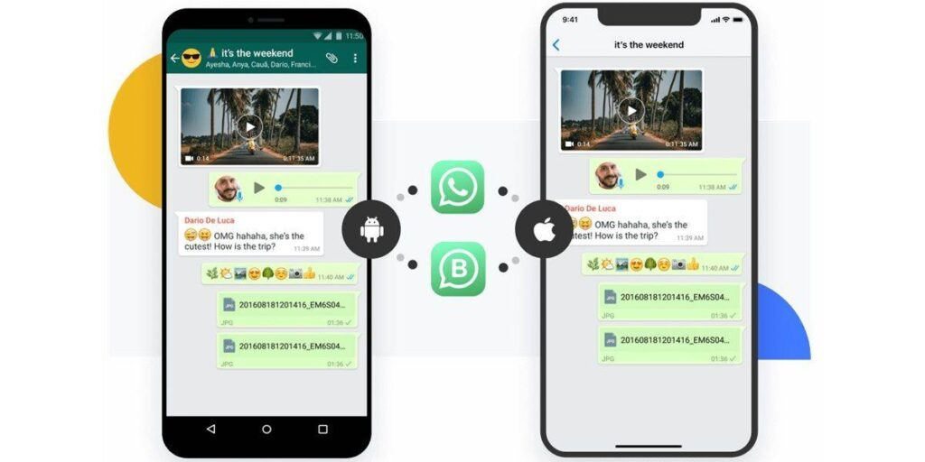 Transfer WhatsApp chats to a new mobile (Android or iPhone) directly