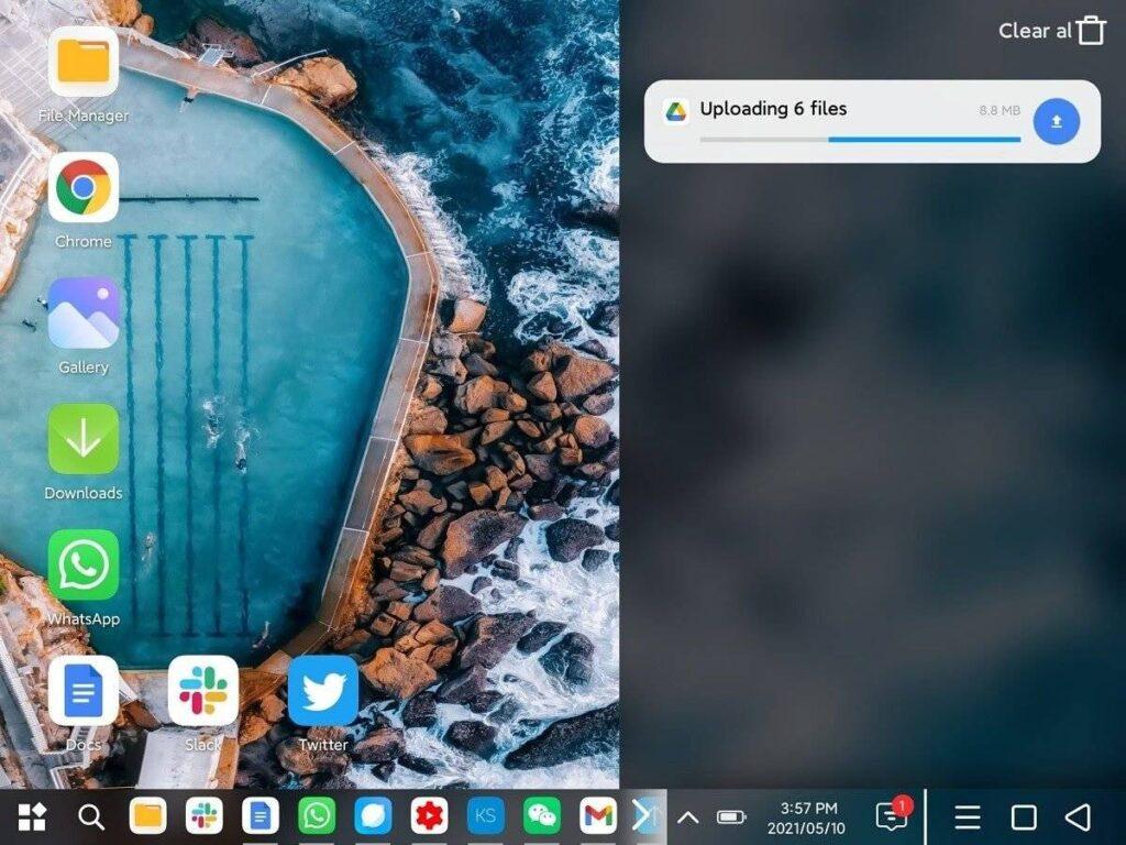 Downloading the desktop mode of the Xiaomi Mi Mix