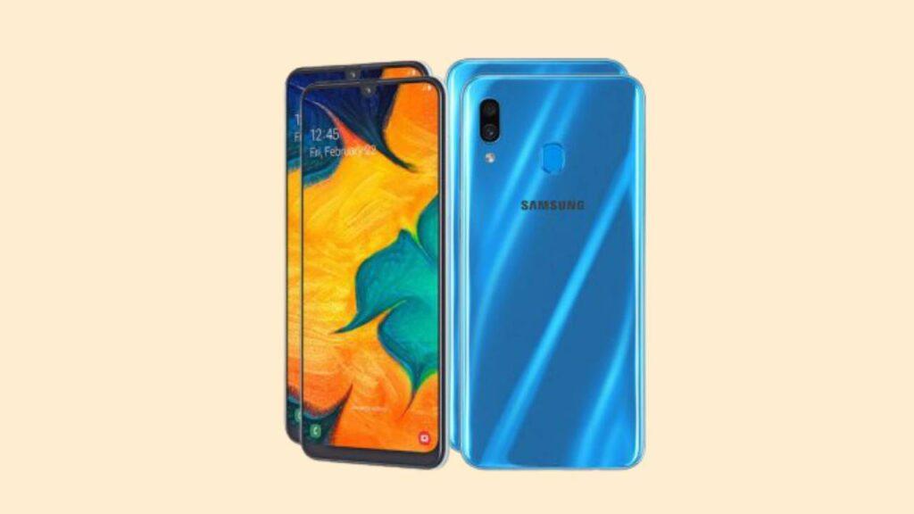 Galaxy A30 SM-A305G Binary 8 Firmware