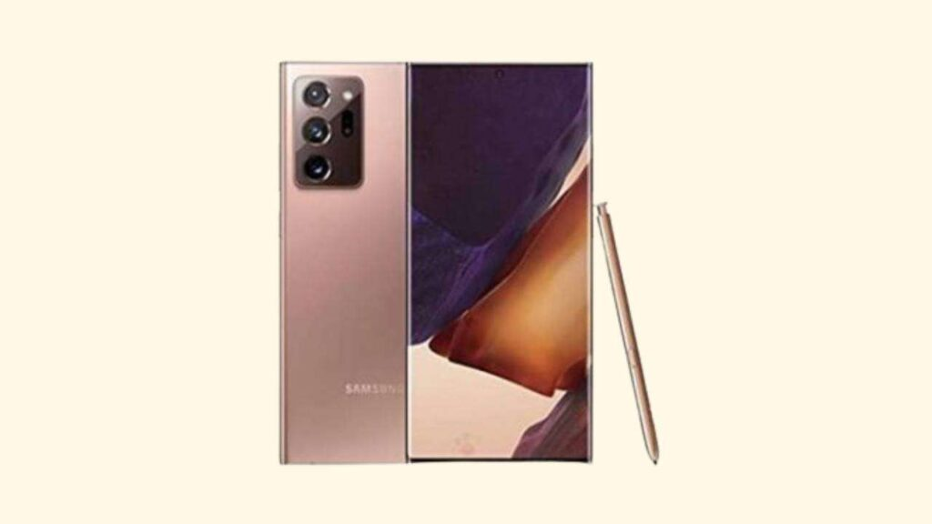 Galaxy Note 20 Ultra 5G SM-N986B Binary 2 Firmware