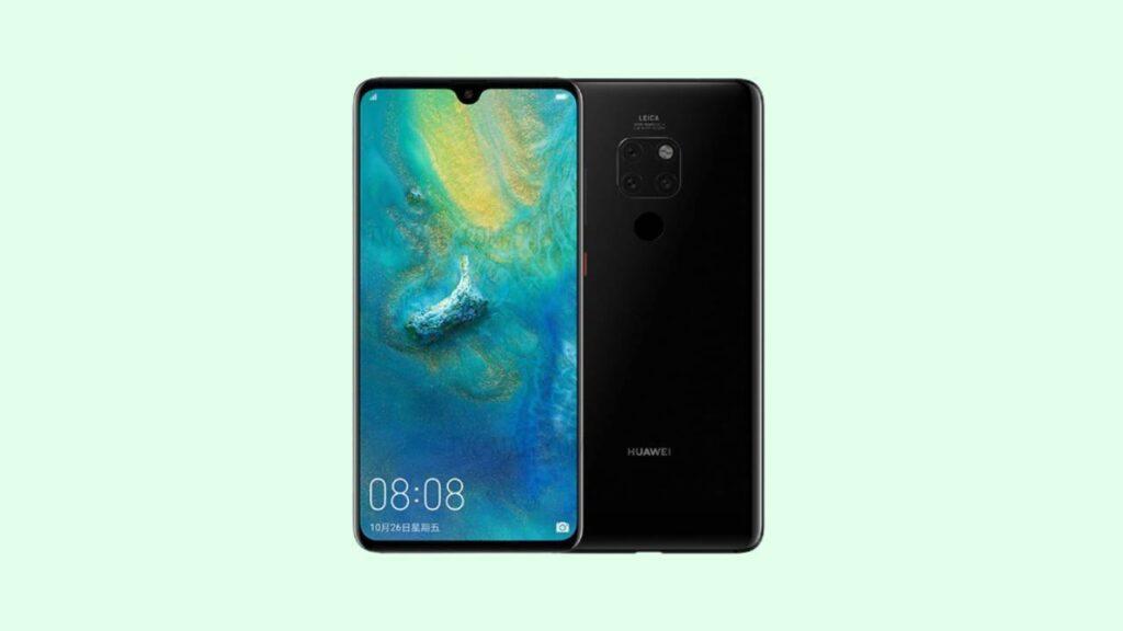 Huawei Mate 20 Hma-AL00 Firmware