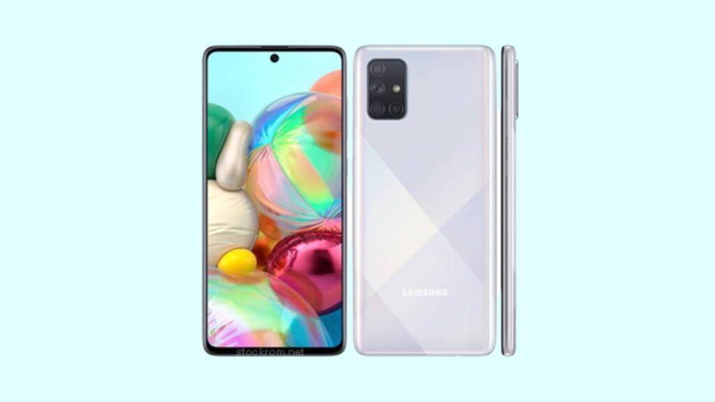 Galaxy A71 SM-A715F U6 Firmware