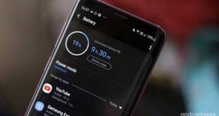 SamsungTipsNews Save battery on your Samsung smartphone