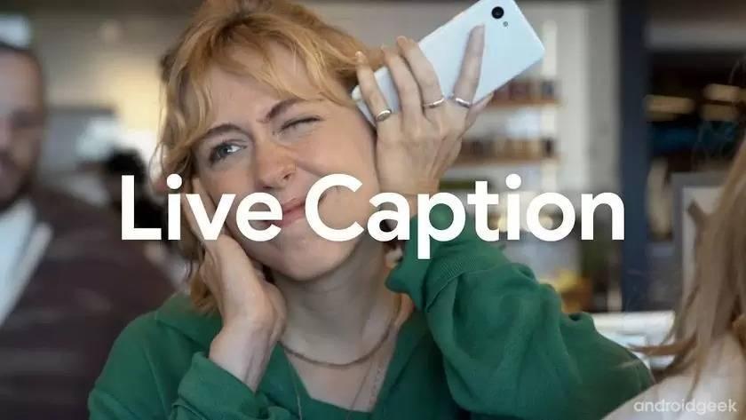 nable Live Captioning on Samsung
